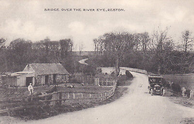 Yp483  Reston - Bridge Over The River Eye. Motoring