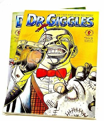 Dr. Giggles #1,2 Based On The Movie,dark Horse 1992 Horror Vf/nm