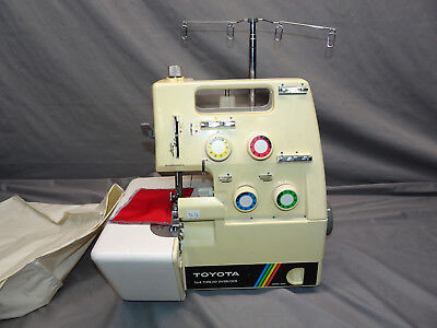 TOYOTA Model No. 6600 SERGER SEWING MACHINE - FOR PARTS