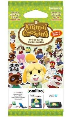 Animal Crossing New Leaf Welcome Amiibo Series 1 *Pal Eu Cards*