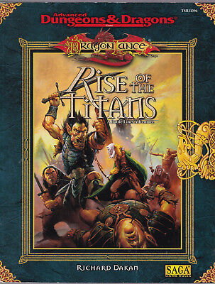 Advanced Dungeons & Dragons:  DragonLance - Rise of the Titans