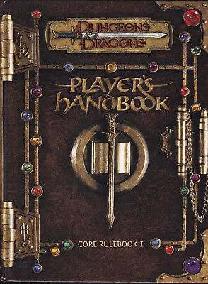 Dungeons & Dragons: Player's Handbook. Core Rulebook I (Edition 3.0)