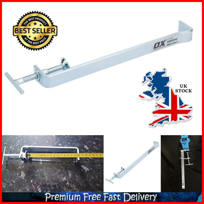 Brick Laying Tool OX P102007 Pro Internal Profile Clamp 178mm Solid Steel Silver