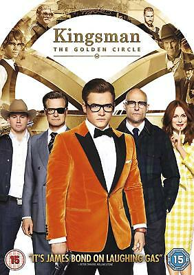 Kingsman The Golden Circle DVD New 2017 Region 2 Taron Egerton