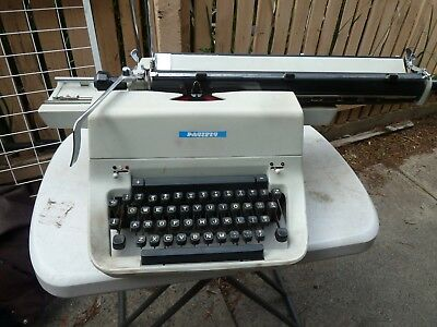 Vintage large Pacific Typewriter industrial A3 office needs service