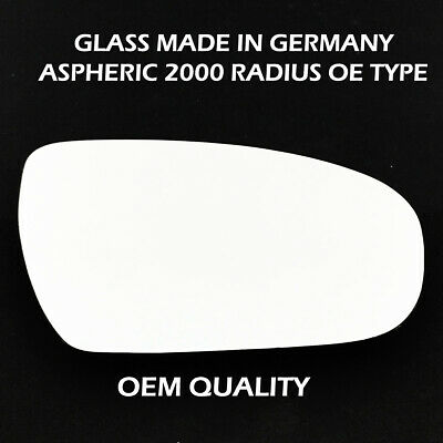 Hightecpl 862RS Right Driver Side Convex Door Wing Mirror Glass