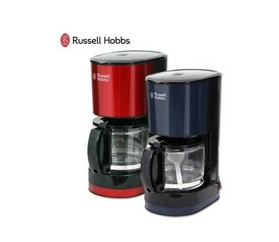 Russell Hobbs Mini Coffee Maker RH-G6669 cups Compact Glass teapot 2-colors