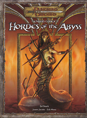 Dungeons & Dragons: Fiendish Codex I - Hordes of the Abyss