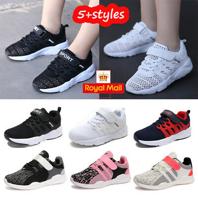 Boys And Girls Sports Casual Trainers Running Gym Summer Hollow Shoes Sizes