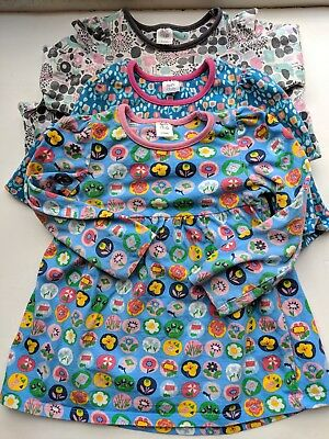 3 X Baby Girls Boots Mini Club Floral Dress Tunic Bundle 12-18 months 1-1.5 yrs