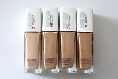 NEW! Maybelline Superstay 24H Full Coverage Foundation 30ml - Choose Shade: