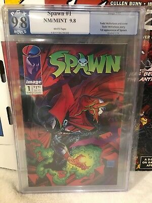 Spawn #7 CGC 9.4 NM White Pages JUST GRADED Todd Mcfarlane Image Comics 1//93