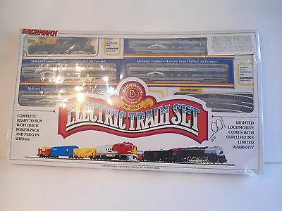 Bachmann HO Scale Electric Train Set Complete Ready to Run Track Power Wire