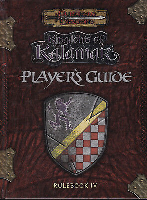 Dungeons & Dragons: Kingdoms Of Kalamar Rulebook IV: Player's Guide