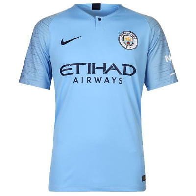 Manchester City Home shirt 2018 / 2019 season Blue Medium