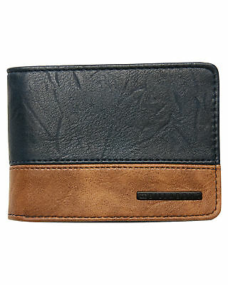 New Billabong Men's Dimension Wallet Blue