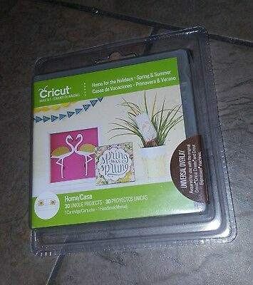 New Cricut Home for the Holidays Spring and Summer Cartridge