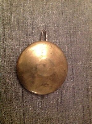 Antique Brass Pendulum Bob 71g 60mm Diameter 75mm Long For Spare Parts