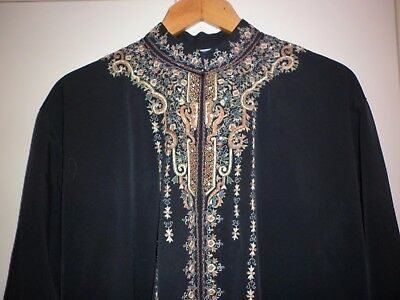 Vintage Exotic  Traditional Tunic  Size Xl Exc- Condition
