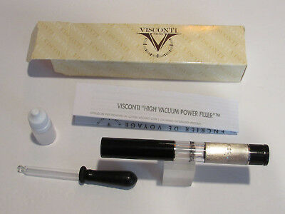 Visconti #533 Universal Fountain Pen Traveling Ink Well+5 ml spare ink bottle