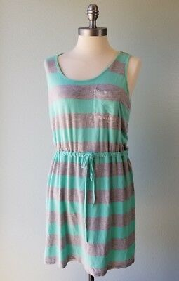 670d06a1e1d5 NEW OLIVE & Oak Women's Summer Stripe Sleeveless Sun Dress -VARIETY ...