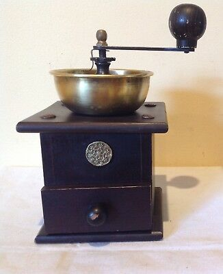 Vintage Italian Manual Coffee Grinder