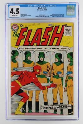 Flash #105 - CGC 4.5 VG+ DC 1959 - 1st App & ORIGIN of Mirror Master!!!