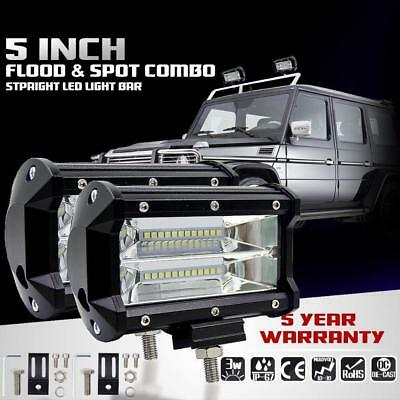 72W SPOT LED Off road Work Light  12V 24V car boat Truck Driving UTE 6000K JZ