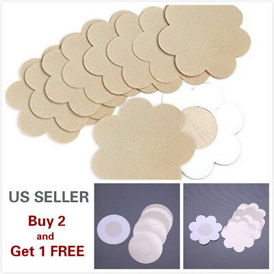 5/10 Pcs of Invisible Breast Pasties Adhesive Nipple Cover Sticker Pads