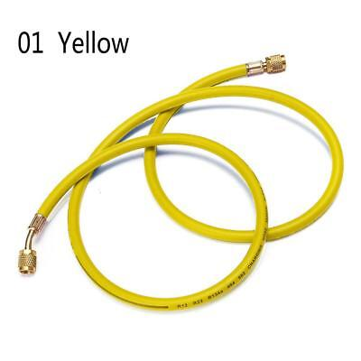 Refrigeration Charging Hose 1.5m Air Conditioning R134a HVAC 5FT Yellow JZ