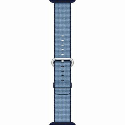 Apple Band 38mm Navy Tahoe Blue Woven MP222AM/A FREE SHIPPING
