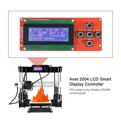 2004 LCD Smart Screen LCD Display Controller Module Plug and Play for 3D Printer