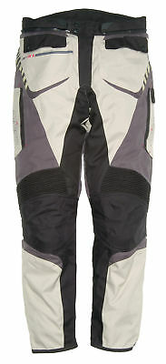 Nitro NP-21 Motorcycle Motorbike Trousers Pants CE Armour Short Sand M Clearance