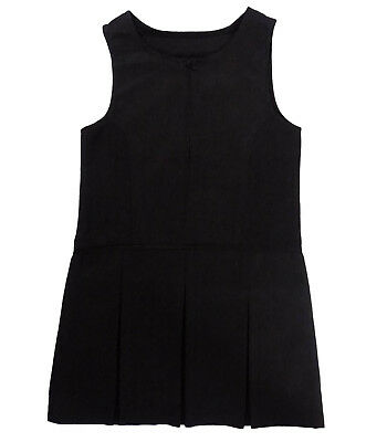 Girls Ex Major Highstreet School Grey Pinafore Dress UK NEW 4/5 - 9/10