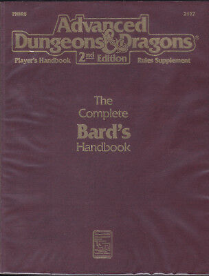 Advanced Dungeons & Dragons: The Complete Bard's Handbook