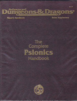 Advanced Dungeons & Dragons: The Complete Psionics Handbook