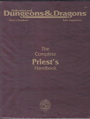 Advanced Dungeons & Dragons: The Complete Priest's Handbook