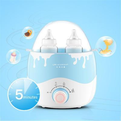 Baby Feeding Bottle Food Milk Warmer Heater Babyfood Warm Sterilizer BPA Free UK