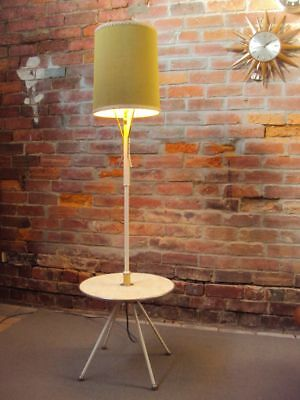 FLOOR LAMP - Arrow Metal Products - 1960's RETRO VINTAGE - LARGE 1585mm HIGH