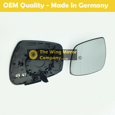 Ford Galaxy-S Max Wing Mirror With base Heated, Wide Angle RHS 2015 onward