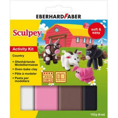 EBERHARD FABER Modellier-Set Sculpey ´Country´ (4087205712224)