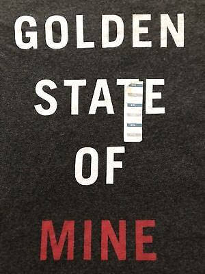 Classic Old Navy GOLDEN STATE OF MINE San Francisco California Rare T-shirt XXL