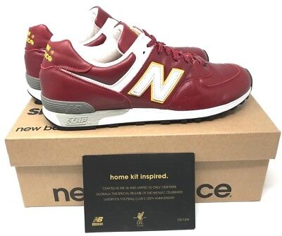 brand new 1b5b5 bb58d NEW BALANCE 576 Liverpool FC Limited Edition #150/1204 mens M576LFC size  10.5