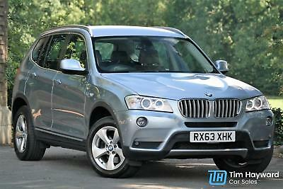 BMW X3 xDrive30d 3.0d ( 258bhp ) Auto SE MASSIVE SPECIFICATION FBMWSH PX Welcome