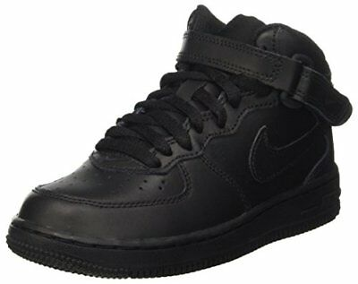 check out d91a3 12384 Nike 314196-004   Air Force 1 Mid (PS) Little Kids Black Sneakers
