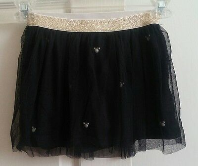 "NWT Girls Disney ""Jumping Beans"" Black Tulle Minnie Mouse Skort size 5"