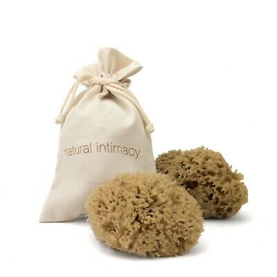 BabyCare Sea Sponges - Twin Pack - 2 Natural Honeycomb Mediterranean Sea Sponges