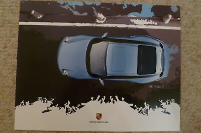 2011 Porsche 911 Turbo S Showroom Advertising Poster RARE!! Awesome