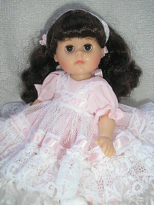 Easter Fun Pink Lacey Outfit for Vogue Ginny Doll