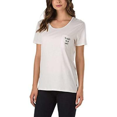 8e577c693a6867 WOMENS VANS OTW (Clan Baby) Tee T Shirt Marshmallow Off White Sz ...